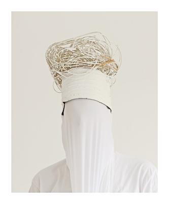 Kopf mit Wicklung Fotografie Edition von 5  60x50cm