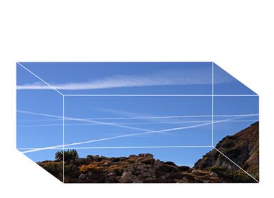 """""""Landscube""""  Fotografie  Edition von 5"""