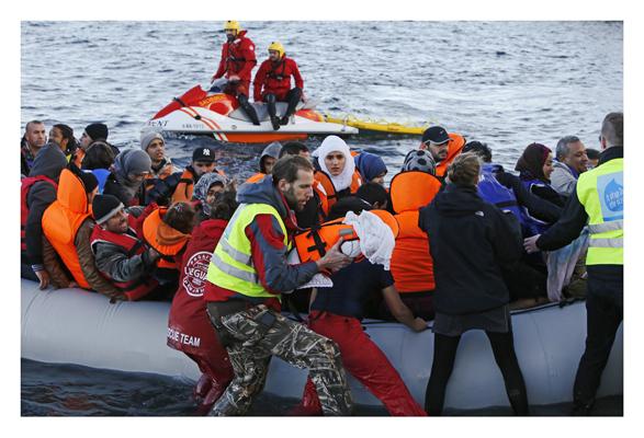 Rettungsaktion der NGOs