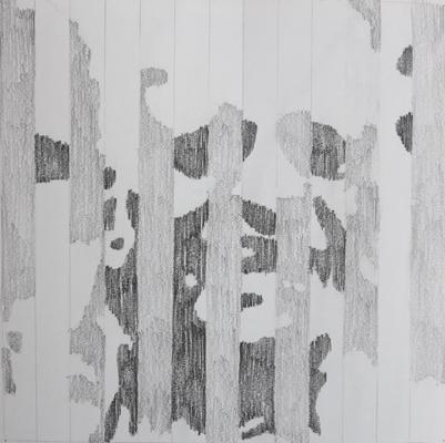 Kopfwerk Graphit Papier 23x23cm 2013