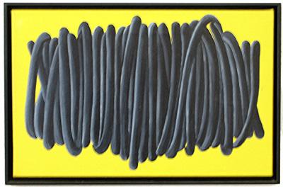 Wicklung Acryl LW 30x47cm 1999