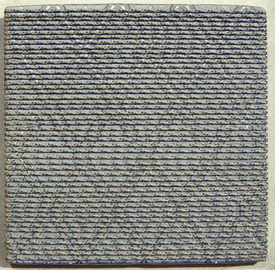 Wicklung Acryl Seil 40x40cm 1999