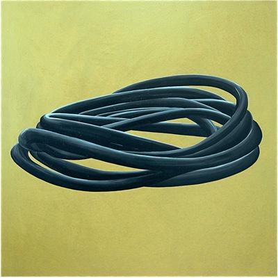 Wicklung Acryl LW 100x100cm 1999